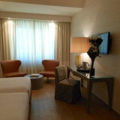 Отель Starhotels Michelangelo 4* Улучшенный номер с различными типами кроватей фото 14