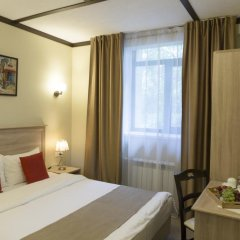 Гостиница Кауфман 3* Стандартный номер двуспальная кровать фото 15