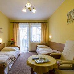 Отель Pensjonat Pod Giewontem Закопане комната для гостей