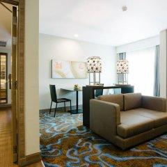 Отель Citrus Sukhumvit 11 Bangkok by Compass Hospitality 3* Стандартный номер с различными типами кроватей фото 14
