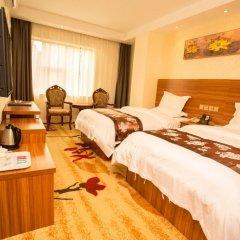 Huaming Hotel International Conference Center 2* Номер Делюкс с двуспальной кроватью фото 5