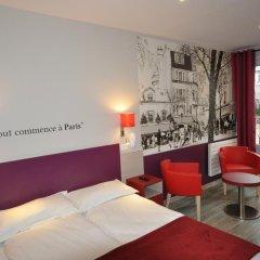 Grand Hotel de Turin 3* Стандартный номер разные типы кроватей фото 11
