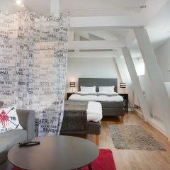 Отель Avenue A1 Улучшенные апартаменты с различными типами кроватей фото 18