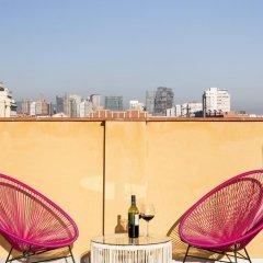 Отель Mar Apartments Испания, Барселона - отзывы, цены и фото номеров - забронировать отель Mar Apartments онлайн балкон