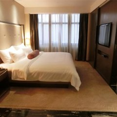 Baiyun Hotel Guangzhou 4* Представительский люкс с различными типами кроватей фото 3