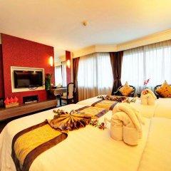 Jomtien Garden Hotel & Resort 4* Номер Делюкс с различными типами кроватей фото 13