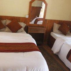 Отель Chitwan Forest Resort Непал, Саураха - отзывы, цены и фото номеров - забронировать отель Chitwan Forest Resort онлайн комната для гостей фото 5
