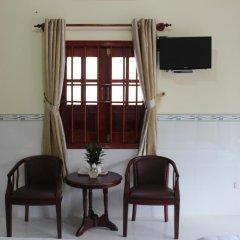 Отель Hoa Nhat Lan Bungalow 2* Стандартный номер с различными типами кроватей фото 4
