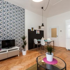 Апартаменты Comfortable Prague Apartments Улучшенные апартаменты с различными типами кроватей фото 2
