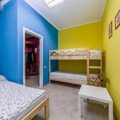 Хостел Макарена Стандартный семейный номер с различными типами кроватей