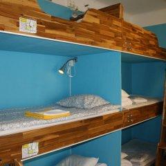 Birka Hostel Кровать в общем номере с двухъярусной кроватью фото 9