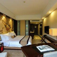 Guangdong Yingbin Hotel 4* Улучшенный номер с различными типами кроватей фото 4