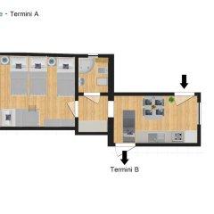 Отель Flatinrome - Termini Италия, Рим - отзывы, цены и фото номеров - забронировать отель Flatinrome - Termini онлайн удобства в номере