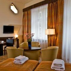 Отель Spatz Aparthotel 3* Стандартный номер с различными типами кроватей фото 6
