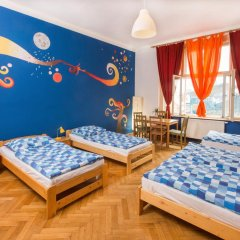 Hostel Downtown Стандартный семейный номер с двуспальной кроватью фото 6