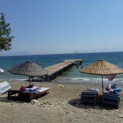 Отель Mazi Sahil Pansiyon Торба пляж фото 2