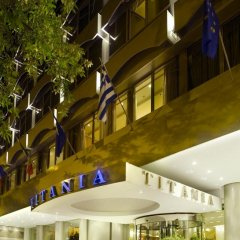 Titania Hotel 4* Стандартный семейный номер с двуспальной кроватью фото 3