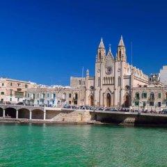 Отель Gafar 1 Мальта, Слима - отзывы, цены и фото номеров - забронировать отель Gafar 1 онлайн пляж фото 2