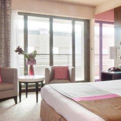 Отель Hyatt Regency Nice Palais de la Méditerranée 5* Стандартный номер с различными типами кроватей фото 13