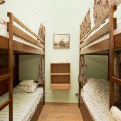 Центро Хостел Кровать в женском общем номере с двухъярусными кроватями фото 2