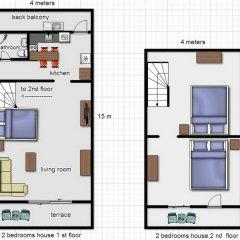 Отель Royal Prince Residence 2* Коттедж разные типы кроватей фото 2