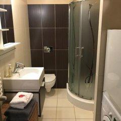 Отель Anton Panorama Apartments Польша, Варшава - отзывы, цены и фото номеров - забронировать отель Anton Panorama Apartments онлайн ванная фото 2