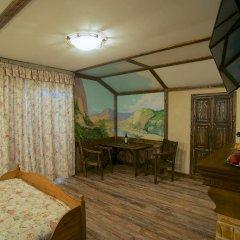 Гостиница Теремок Заволжский Апартаменты разные типы кроватей фото 34