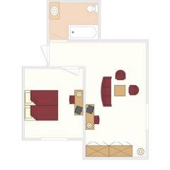 The Three Corners Hotel Art 3* Номер Комфорт с различными типами кроватей фото 9