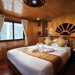 Отель Halong Golden Bay Cruise комната для гостей
