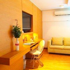 I Residence Hotel Silom 3* Номер Делюкс с различными типами кроватей фото 2