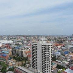 Отель Centric Sea Pattaya Апартаменты с различными типами кроватей фото 15