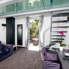 Golden Tulip Cannes hotel de Paris 4* Улучшенный номер с различными типами кроватей фото 17