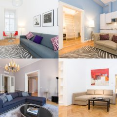 Апартаменты Vienna Prestige Apartments Graben Полулюкс фото 28