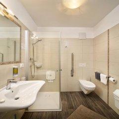 Отель Pension Bergland Горнолыжный курорт Ортлер ванная