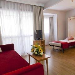 Отель Aparto Suites Muralto Улучшенные апартаменты с различными типами кроватей фото 4