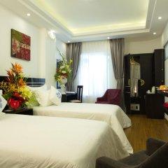 Noble Boutique Hotel Hanoi 3* Номер Делюкс с различными типами кроватей фото 5