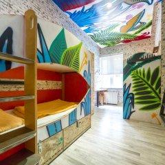 Chillout Hostel Zagreb Кровать в общем номере с двухъярусной кроватью фото 25