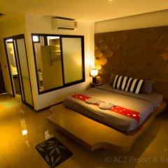 Отель AC 2 Resort 3* Номер Делюкс с различными типами кроватей фото 12