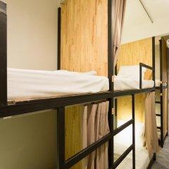 Homie Hostel & Cafe' 2* Кровать в общем номере фото 3