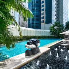 Отель The St. Regis Singapore 5* Номер Делюкс с различными типами кроватей фото 2