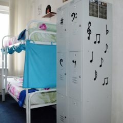 Хостел Достоевский Кровать в общем номере с двухъярусной кроватью фото 23