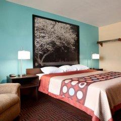 Отель Super 8 Effingham 2* Стандартный номер с различными типами кроватей фото 5
