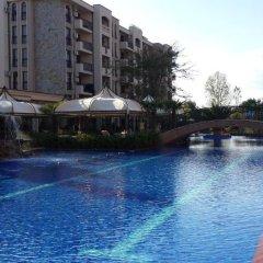Отель Cascadas Studio Болгария, Солнечный берег - отзывы, цены и фото номеров - забронировать отель Cascadas Studio онлайн бассейн