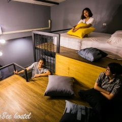 Silom Space Hostel Бангкок комната для гостей фото 5