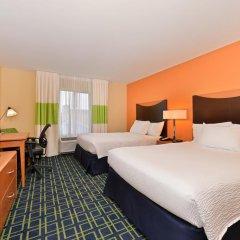 Отель Fairfield Inn And Suites By Marriott Columbus West 3* Стандартный номер фото 2
