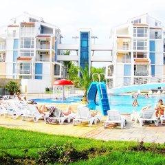 Отель Aparthotel Elit 2 Болгария, Солнечный берег - отзывы, цены и фото номеров - забронировать отель Aparthotel Elit 2 онлайн пляж