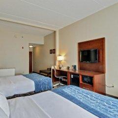 Отель Comfort Suites Manassas Battlefield Park 2* Люкс с различными типами кроватей фото 3