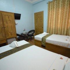 Отель Inlay Palace Hotel Мьянма, Хехо - отзывы, цены и фото номеров - забронировать отель Inlay Palace Hotel онлайн комната для гостей фото 3
