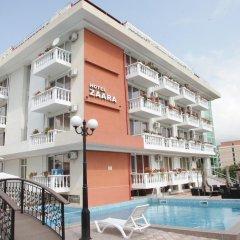 Отель Zaara Болгария, Солнечный берег - отзывы, цены и фото номеров - забронировать отель Zaara онлайн бассейн фото 2