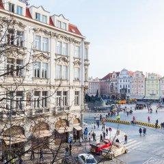 Отель Pařížská 1 Чехия, Прага - отзывы, цены и фото номеров - забронировать отель Pařížská 1 онлайн балкон